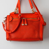 CHESAPEAKE PERFORATED SATCHEL