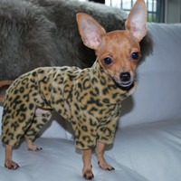 FBP Original Designed Fleece Jogger for Chihuahuas,  Miniature Pinchers, Italian Greyhounds, Hairless Terriers and all small dogs.