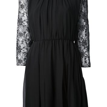 Alice+Olivia Lace Detail Dress