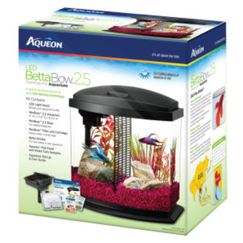 Aqueon® LED Mini Bow Aquarium Kit