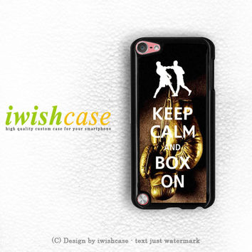 Keep Calm Wwe Boxing Gloves iPod Touch 4 Case iPod Touch 5 Case