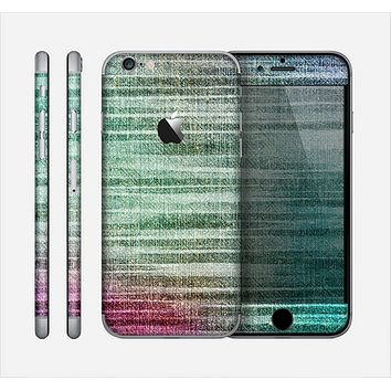 The Vibrant Fold Colored Fabric Skin for the Apple iPhone 6