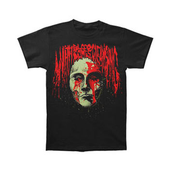 With Blood Comes Cleansing Men's  Bloody Face T-shirt Black