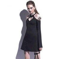 """AMORET"" - HEART GOTHIC MINI DRESS"
