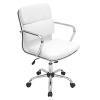 Bachelor Office Chair White