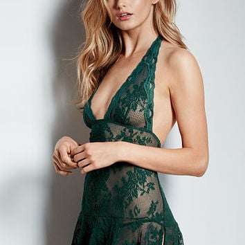 Lace Halter Babydoll - Very Sexy - Victoria's Secret