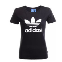 """Adidas""Fashion Casual Pattern Letter Solid Color Short Sleeve T-shirt"