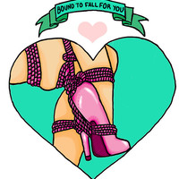 Bound To Fall For You Sticker