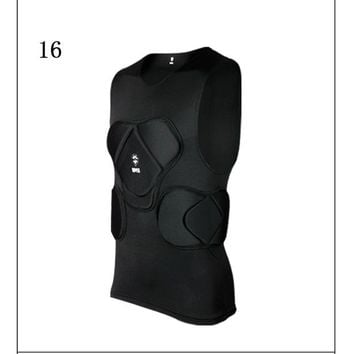 Skateboard Skater t-Shirt New ing t shirt american football soccer shirts goalkeeper jerseys chest vest elbow knee pads protection sports safety AT_45_3