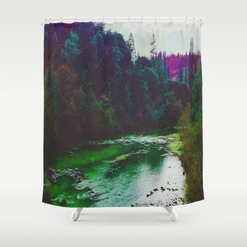 Earth Sounds Shower Curtain by DuckyB (Brandi)