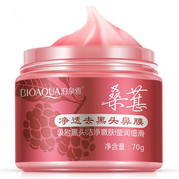BIOAQUA Mulberry Peel Off Blackhead Removal Mask Deep Clean Cream 70g