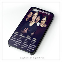 5Sos iPhone 4 4S 5 5S 5C 6 6 Plus , iPod 4 5  , Samsung Galaxy S3 S4 S5 Note 3 Note 4 , and HTC One X M7 M8 Case