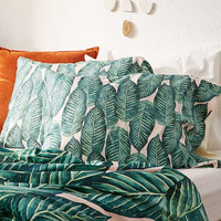 83 Oranges For Deny Tropical Serenity Pillowcase Set | Urban Outfitters