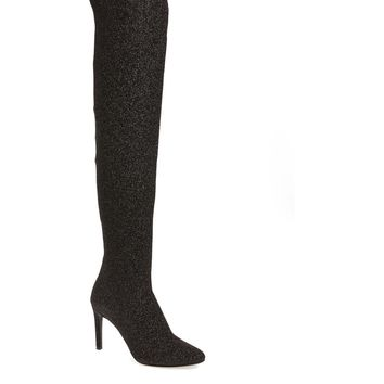 Giuseppe Zanotti Glitter Stretch Over the Knee Boot (Women) | Nordstrom
