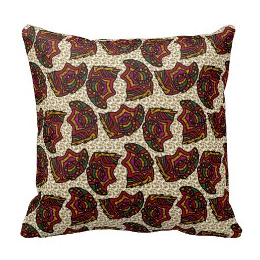 Forms Throw Pillow from Zazzle