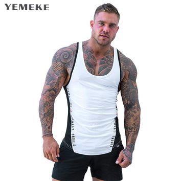 Men Summer gyms Fitness bodybuilding Hooded Tank Top fashion men Cross fit clothing Loose breathable sleeveless shirts Vest