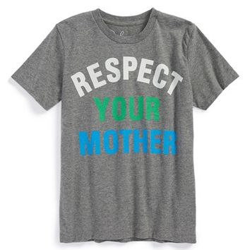Boy's Peek 'Respect Your Mother' T-Shirt