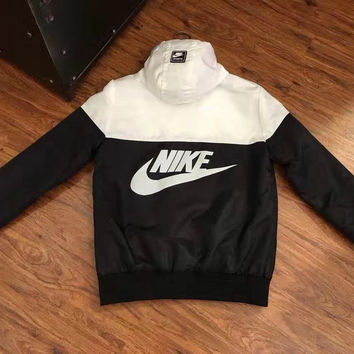 Copy of Nike Woman Men Fashion Long Sleeve Cardigan Jacket Coat Windbreaker