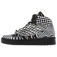 JEREMY SCOTT WINGS OP ART SHOES
