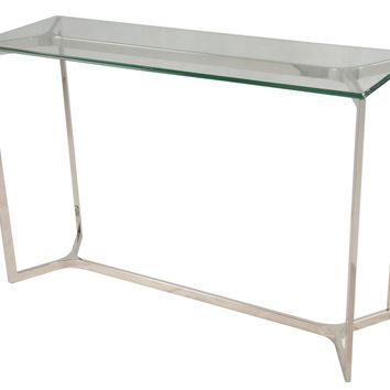 San Clemente Console Table STERLING SILVER