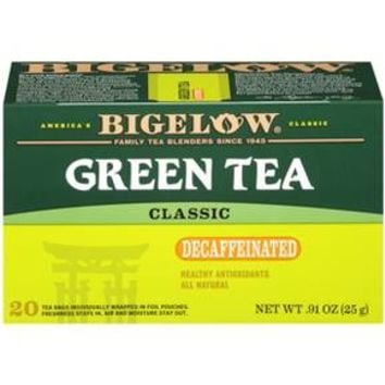 Bigelow® Naturally Decaffeinated Green Tea - 20-ct