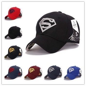 High Quality Awesome Cap Superman Snapback Hat, Cheap Baseball Steampunk Movie Crochet Caps Snapbacks Superman Hats, Basketball Hats for Men Women Cap