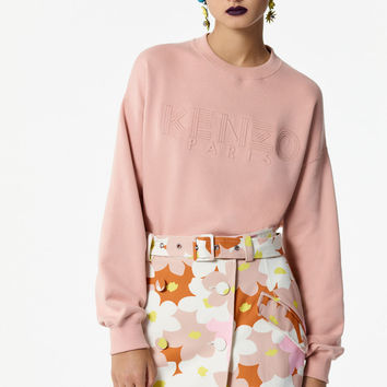 'Jackie flowers' mini skirt