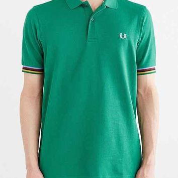 Fred Perry Bradley Stripe Tipped Polo Shirt