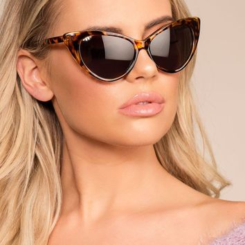 Modern Day Tortoise Cat Eye Sunglasses