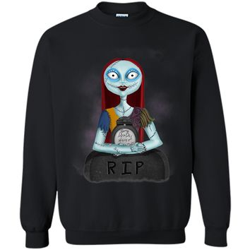 Sally Nightmare Before Christmas by Topher Adam T-Shirt