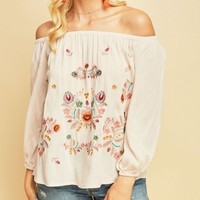Natural Bohemian Off Shoulder