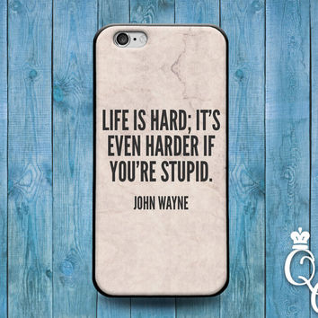 iPhone 4 4s 5 5s 5c 6 6s plus + iPod Touch 5th Generation Funny Famous Hollywood Cowboy Country Phone Cover Cute Quote Fun Gift Case Stupid