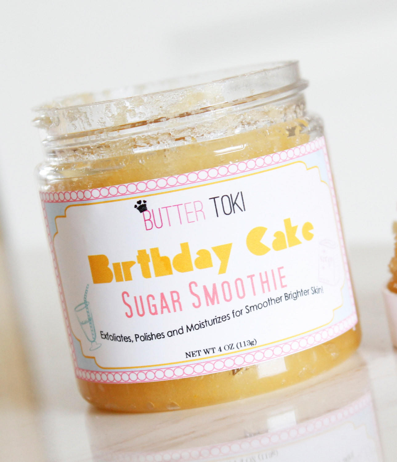 Birthday Cake Scented Sugar Smoothie Body From 214 N 16th