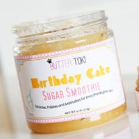 Birthday Cake Scented Sugar Smoothie Body Scrub 4oz