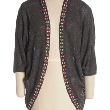 Open Fire Cardigan - $19.93 : Shop Cute Dresses and Clothing - Canada