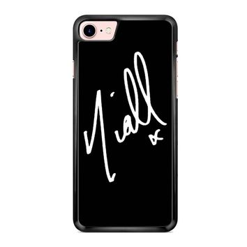 Niall Horan Signature 2 iPhone 7 Case