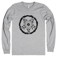 Pizzagram-Unisex Heather Grey T-Shirt