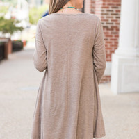 Lightly Layered Top, Mocha