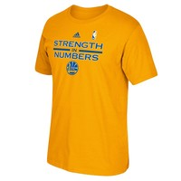 adidas Golden State Warriors 2015 NBA Playoffs It Takes Practice Tee