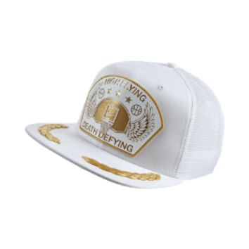 Nike Flight Squad Trucker Hat (White)