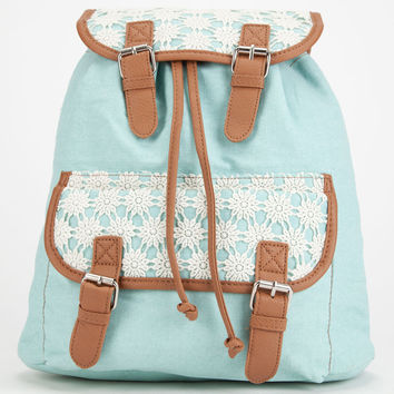 Sky Crochet Backpack | Backpacks