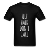 Jeep Hair Don't Care, Unisex T-Shirt