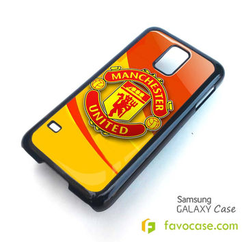 MANCHESTER UNITED FC Football Club Red Devil Samsung Galaxy S2 S3 S4 S5, Mini, Note, Grand, Tab Case Cover