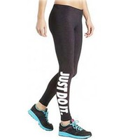 Women Fitness Workout Pants Traning Punk rock gun Leggin