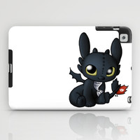 Chibi Toothless iPad Case by Katie Simpson