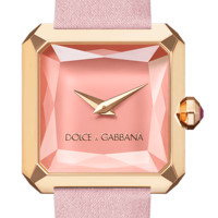 Pink women's watch with rubies - Dolce & Gabbana