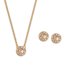 Givenchy Necklace and Earring Set | macys.com
