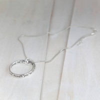 Always In My Thoughts Necklace
