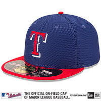 Texas Rangers Authentic Collection Diamond Era 59FIFTY Game Cap - MLB.com Shop