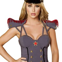 Roma Costume H4385 Military Hat